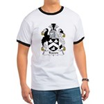 Travers Family Crest Ringer T