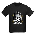 Travers Family Crest Kids Dark T-Shirt