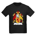 Trane Family Crest Kids Dark T-Shirt