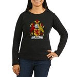 Trane Family Crest Women's Long Sleeve Dark T-Shir