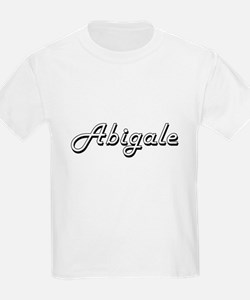 Abigale Classic Retro Name Design T-Shirt