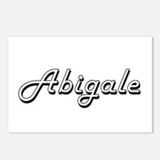 Abigale Classic Retro Nam Postcards (Package of 8)