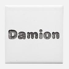 Damion Wolf Tile Coaster