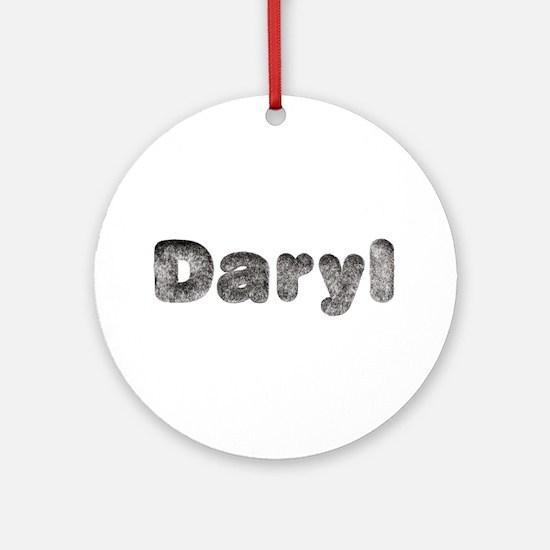Daryl Wolf Round Ornament