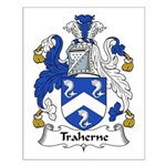 Traherne Family Crest Small Poster