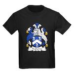 Traherne Family Crest Kids Dark T-Shirt