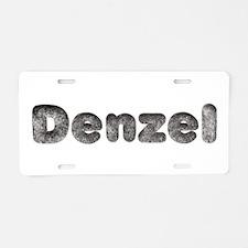 Denzel Wolf Aluminum License Plate