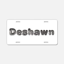 Deshawn Wolf Aluminum License Plate