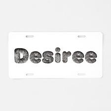Desiree Wolf Aluminum License Plate