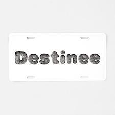 Destinee Wolf Aluminum License Plate