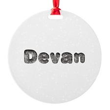 Devan Wolf Ornament