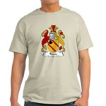 Tracy Family Crest Light T-Shirt