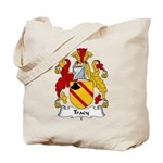 Tracy Family Crest Tote Bag