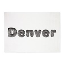 Denver Wolf 5'x7' Area Rug