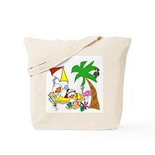 Duck Beach Life Tote Bag