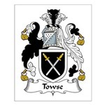 Towse Family Crest Small Poster