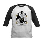 Towse Family Crest Kids Baseball Jersey
