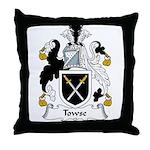 Towse Family Crest Throw Pillow