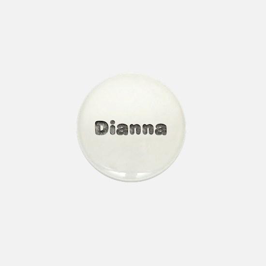 Dianna Wolf Mini Button