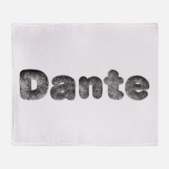 Dante Wolf Throw Blanket