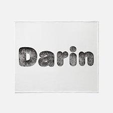 Darin Wolf Throw Blanket