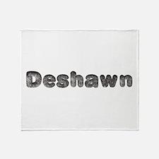 Deshawn Wolf Throw Blanket