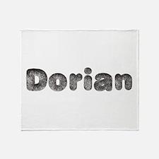 Dorian Wolf Throw Blanket