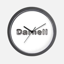 Darnell Wolf Wall Clock