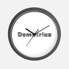 Demetrius Wolf Wall Clock