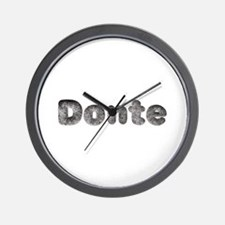 Donte Wolf Wall Clock