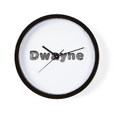 Dwayne Wolf Wall Clock