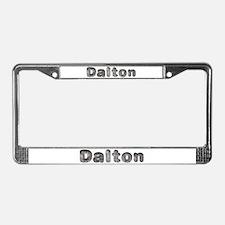 Dalton Wolf License Plate Frame