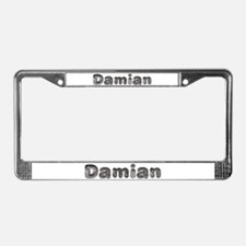Damian Wolf License Plate Frame