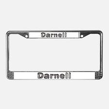 Darnell Wolf License Plate Frame