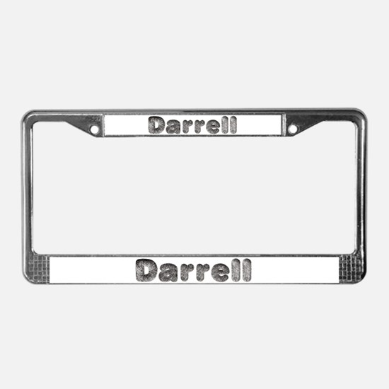 Darrell Wolf License Plate Frame
