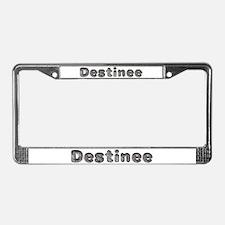 Destinee Wolf License Plate Frame