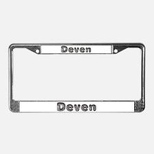 Deven Wolf License Plate Frame