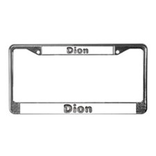 Dion Wolf License Plate Frame