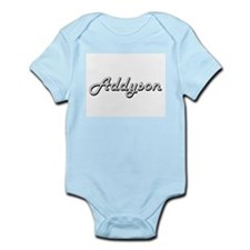 Addyson Classic Retro Name Design Body Suit
