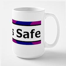 Birth is Safe Blue/Purple Mug