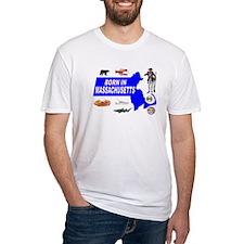 MASSACHUSETTS BORN T-Shirt