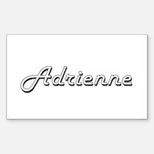 Adrienne Classic Retro Name Design Decal