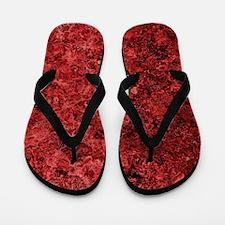 Lava Bloodstone Flip Flops