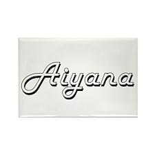 Aiyana Classic Retro Name Design Magnets