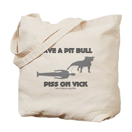 Save A Pit (V) Tote Bag