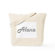Alana Classic Retro Name Design Tote Bag
