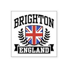 """Cute Brighton Square Sticker 3"""" x 3"""""""