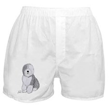 Cute Herding dog Boxer Shorts