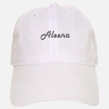 Aleena Classic Retro Name Design Baseball Baseball Cap
