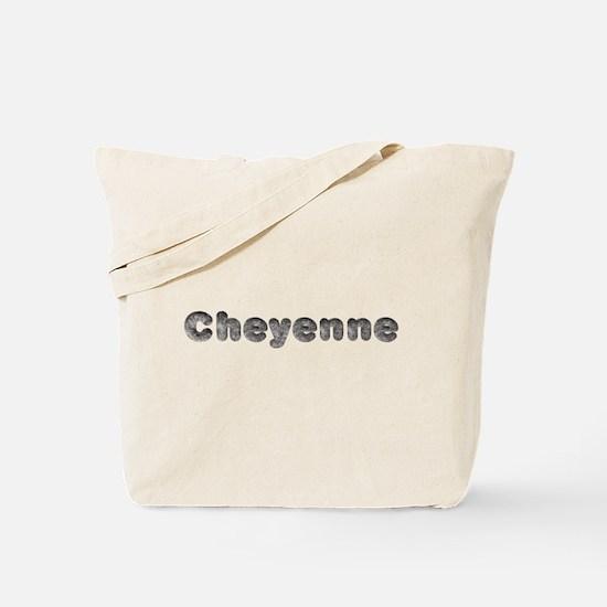 Cheyenne Wolf Tote Bag